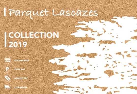 couverture catalogue Parquet Lascazes